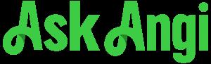 Ask Angi Green Logo