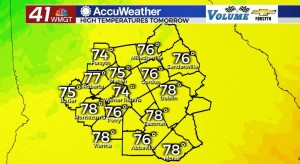 High Temps For 9 23