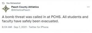 Peach Bomb Tweet